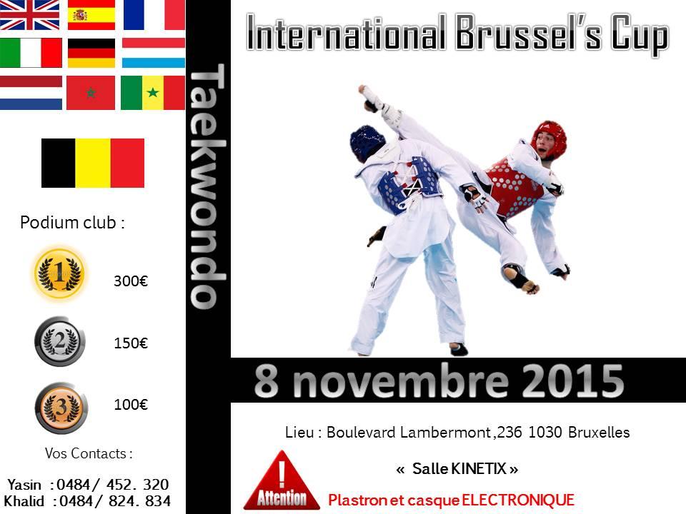 open brussels cup ......