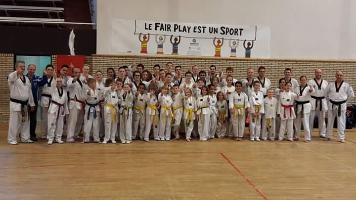 club taekwondo hainaut