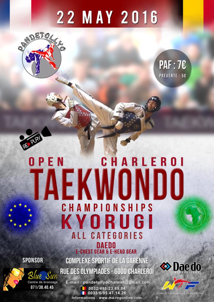 Affiche Open Charleroi 2016